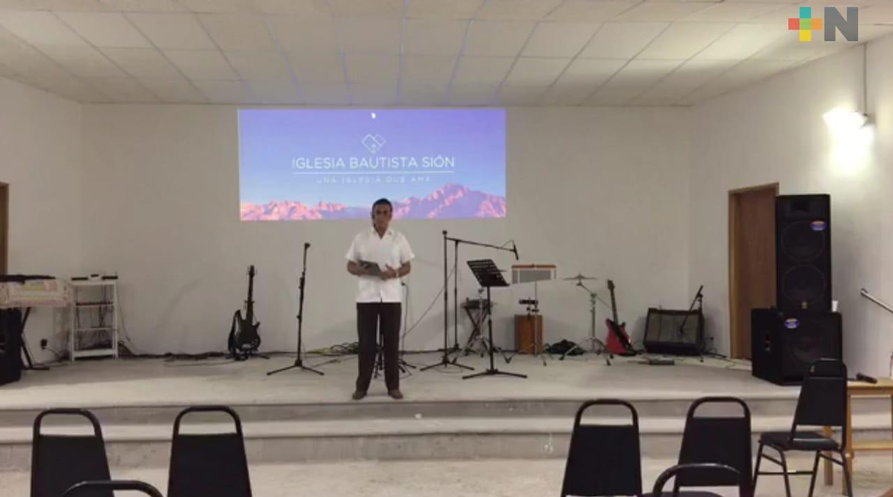 Iglesias empiezan a celebrar cultos de manera virtual