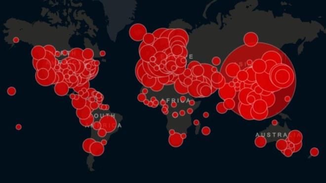Sólo 16 países se mantienen sin casos de coronavirus