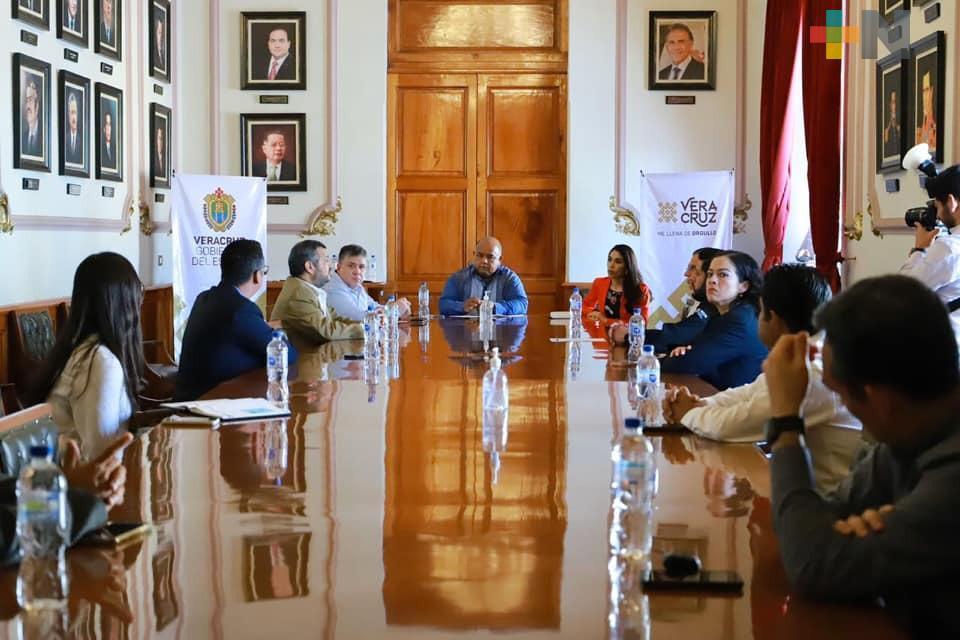 Gobierno de Veracruz garantiza seguridad a notarios