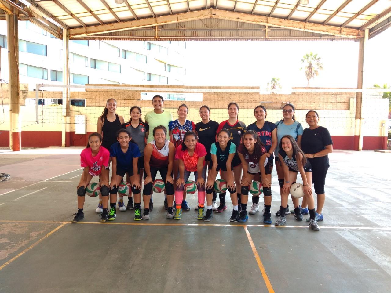 Voleibolistas se preparan rumbo a Juegos Nacionales Conade