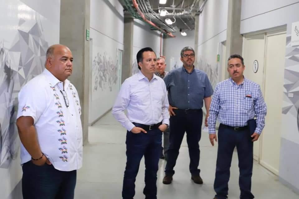 Velódromo de Xalapa podría habilitarse para atender casos de Covid-19