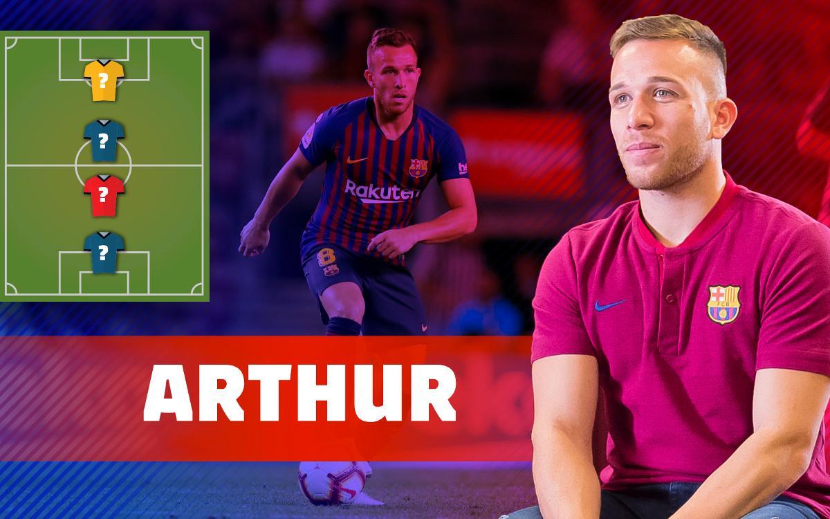 Brasileño Arthur Melo descarta salir de Barcelona