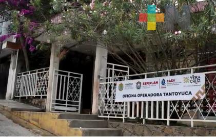 Con oficinas abiertas, CAEV Tantoyuca continúa brindando servicio a los usuarios