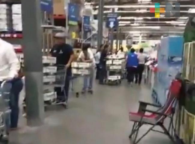 Compras de pánico en Monterrey por cierre de cervecera