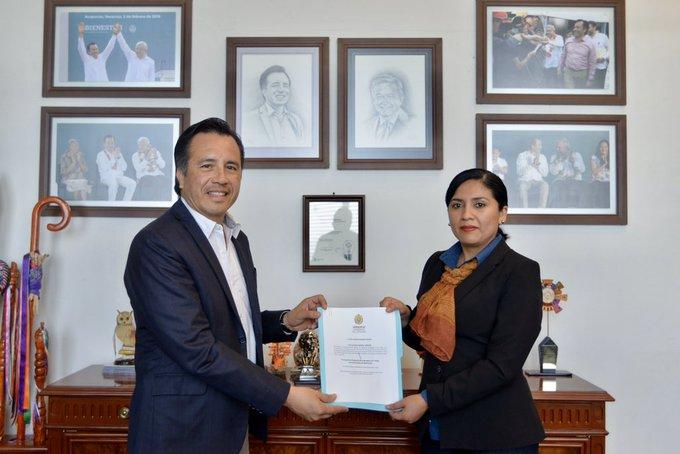 Renunció Guadalupe Argüelles como Secretaria del Trabajo de Veracruz