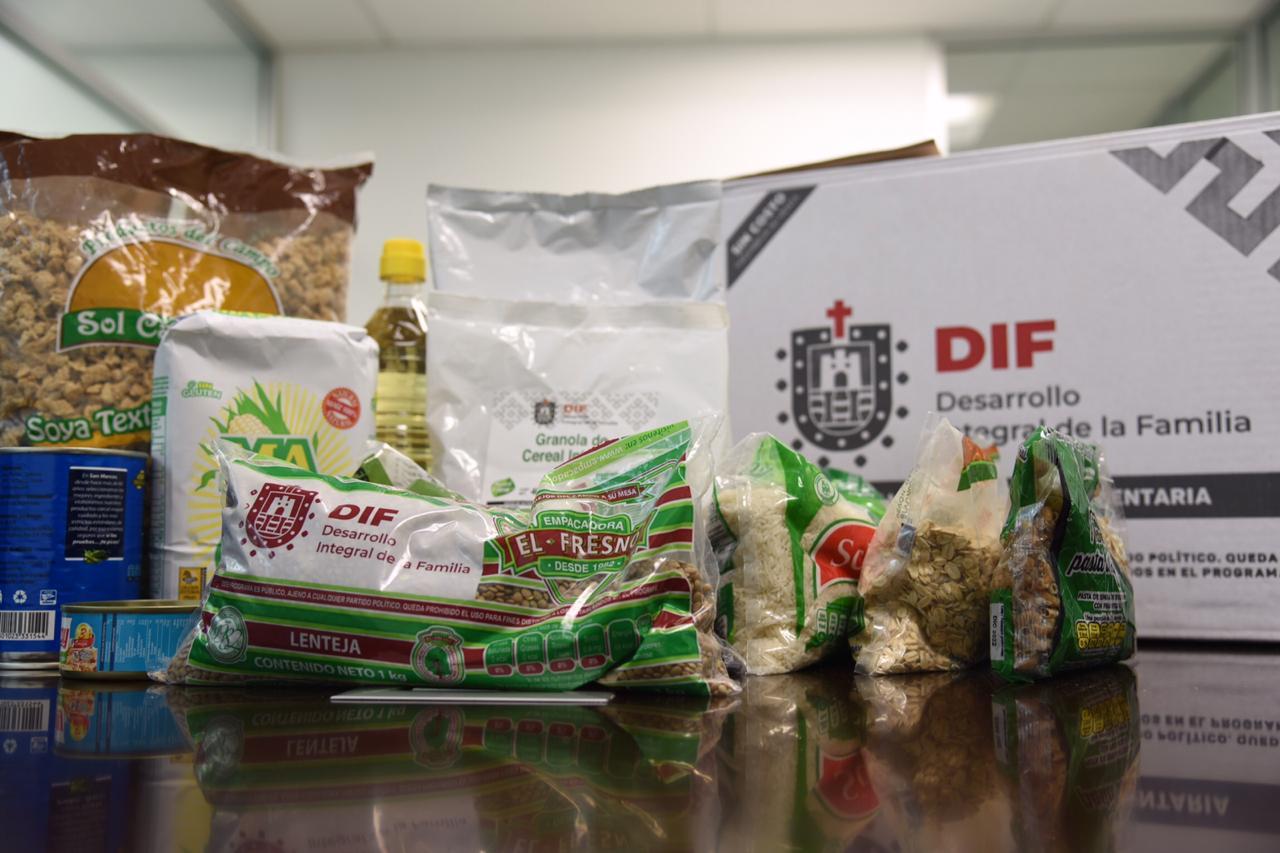 Distribuirá DIF insumos alimentarios durante contingencia a población vulnerable