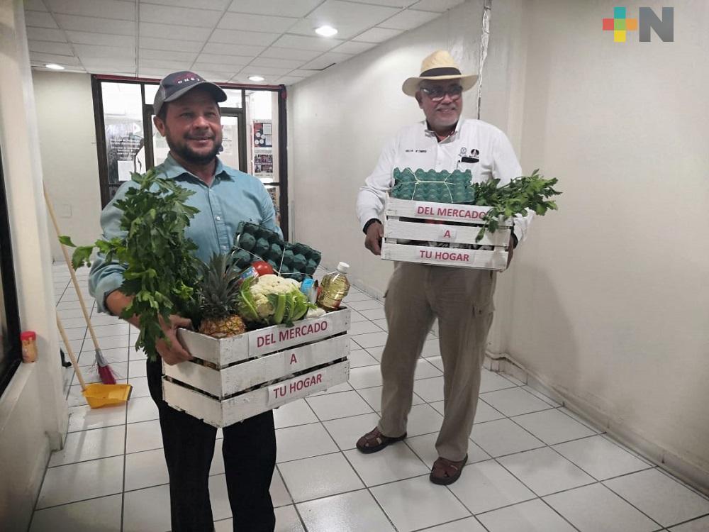 «Del mercado a tu hogar», programa para reactivar economía en Coatzacoalcos