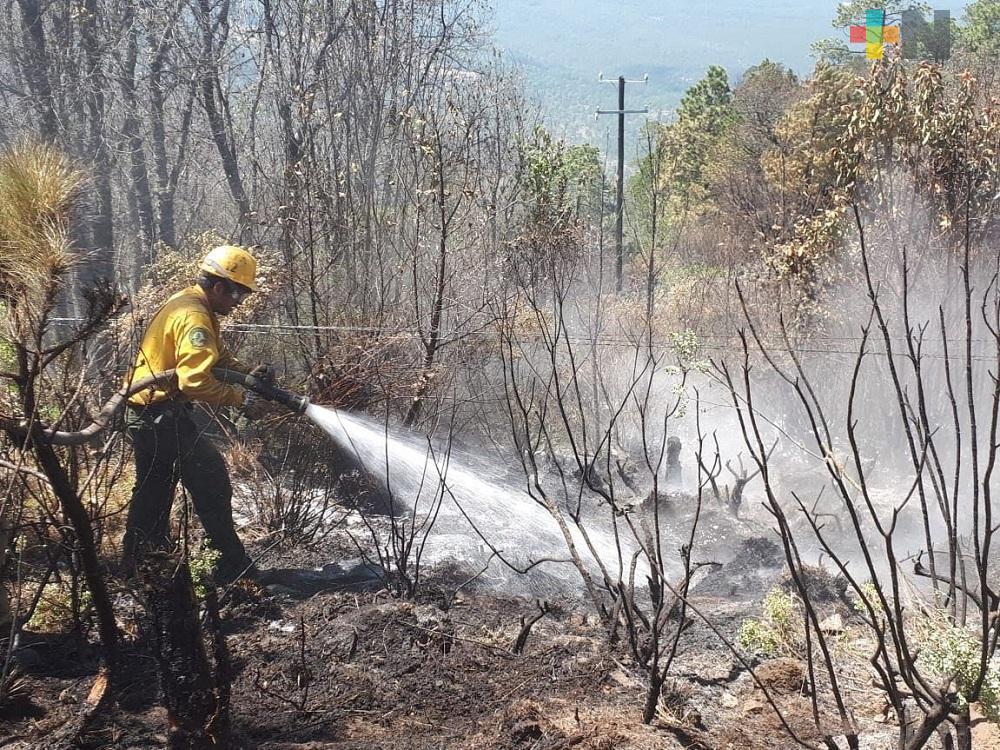 Huayacocotla contará con apoyo de una brigada rural contra incendios forestales