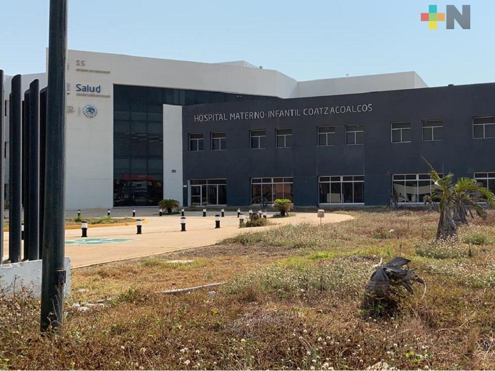 Hospital Materno Infantil de Coatzacoalcos, será reconvertido en Hospital Covid