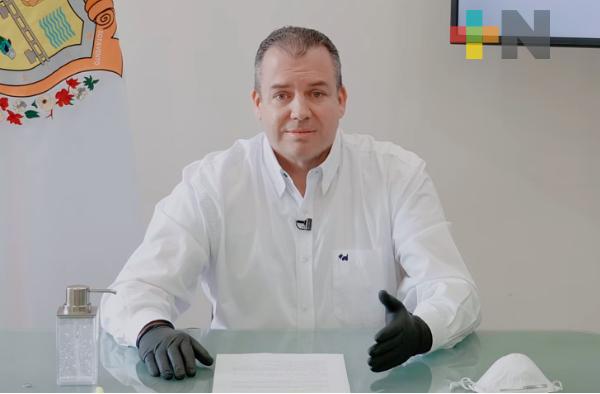 Director de PC en Boca del Río vuelve a dar positivo a COVID-19
