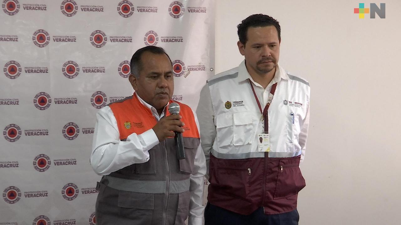 Capacitan Protección Civil y Salud a equipos de emergencia en manejo de pacientes con coronavirus