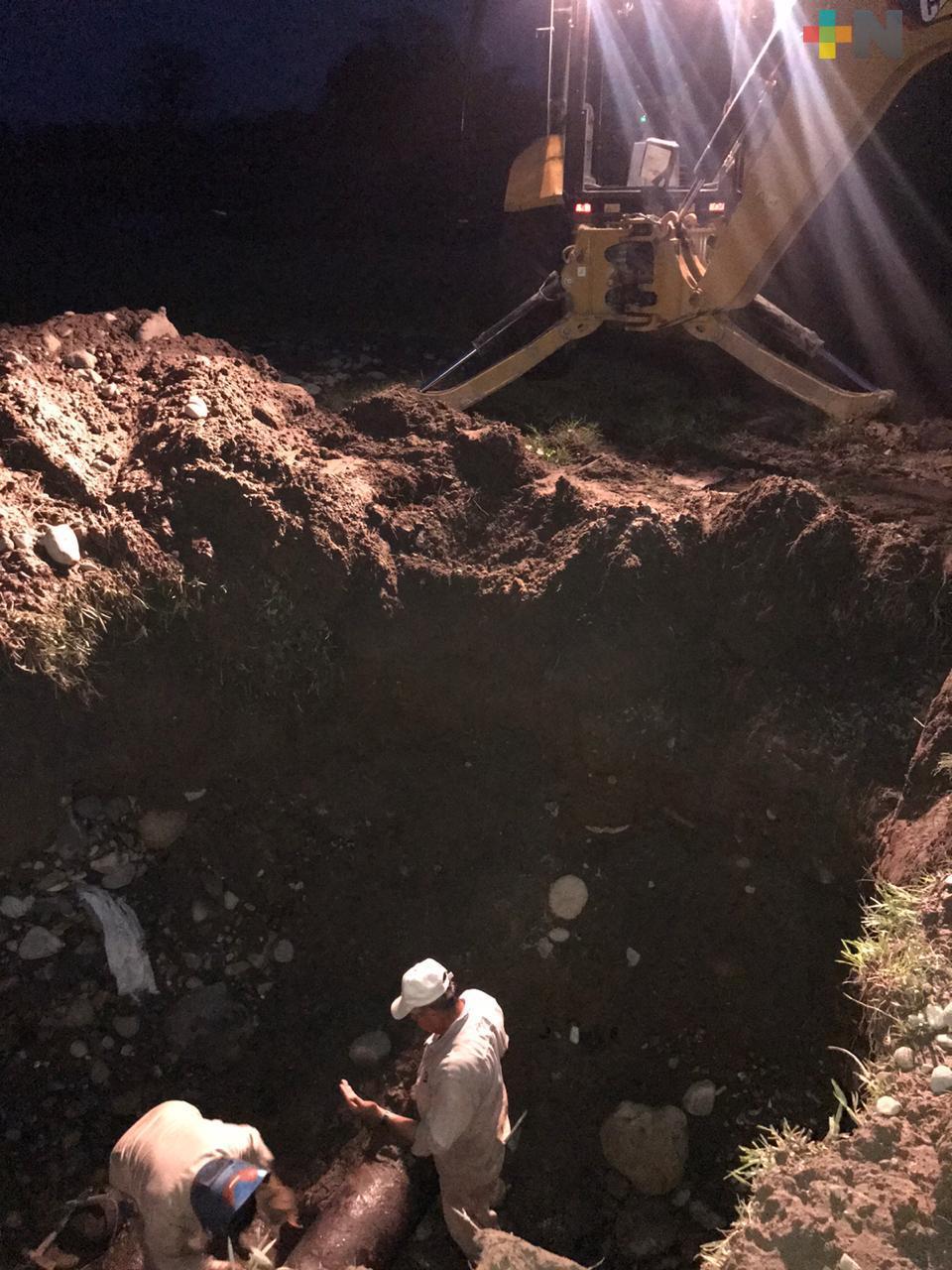 Por reparación de fugas suspenden servicio de agua potable en Martínez de la Torre