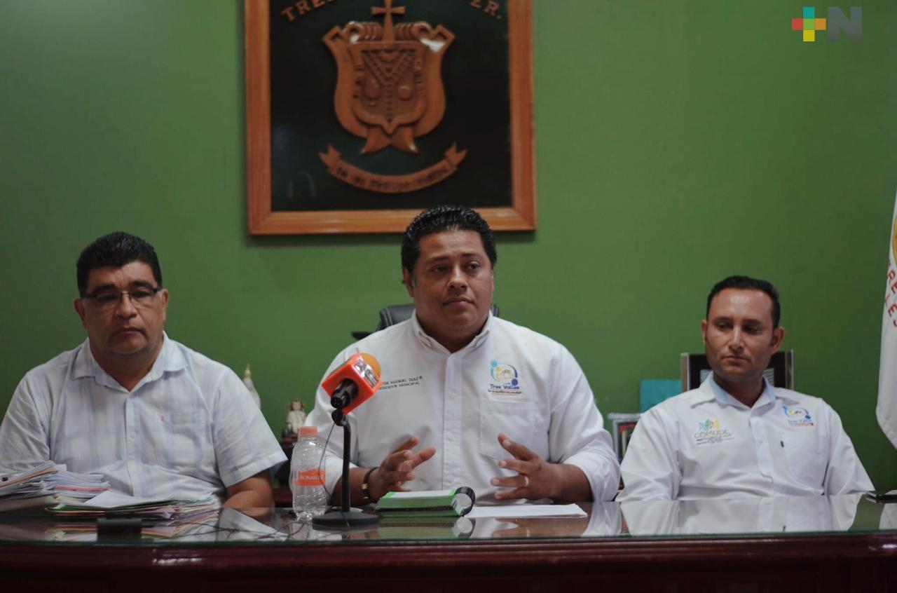 Suspenden el carnaval de Tres Valles por contingencia sanitaria