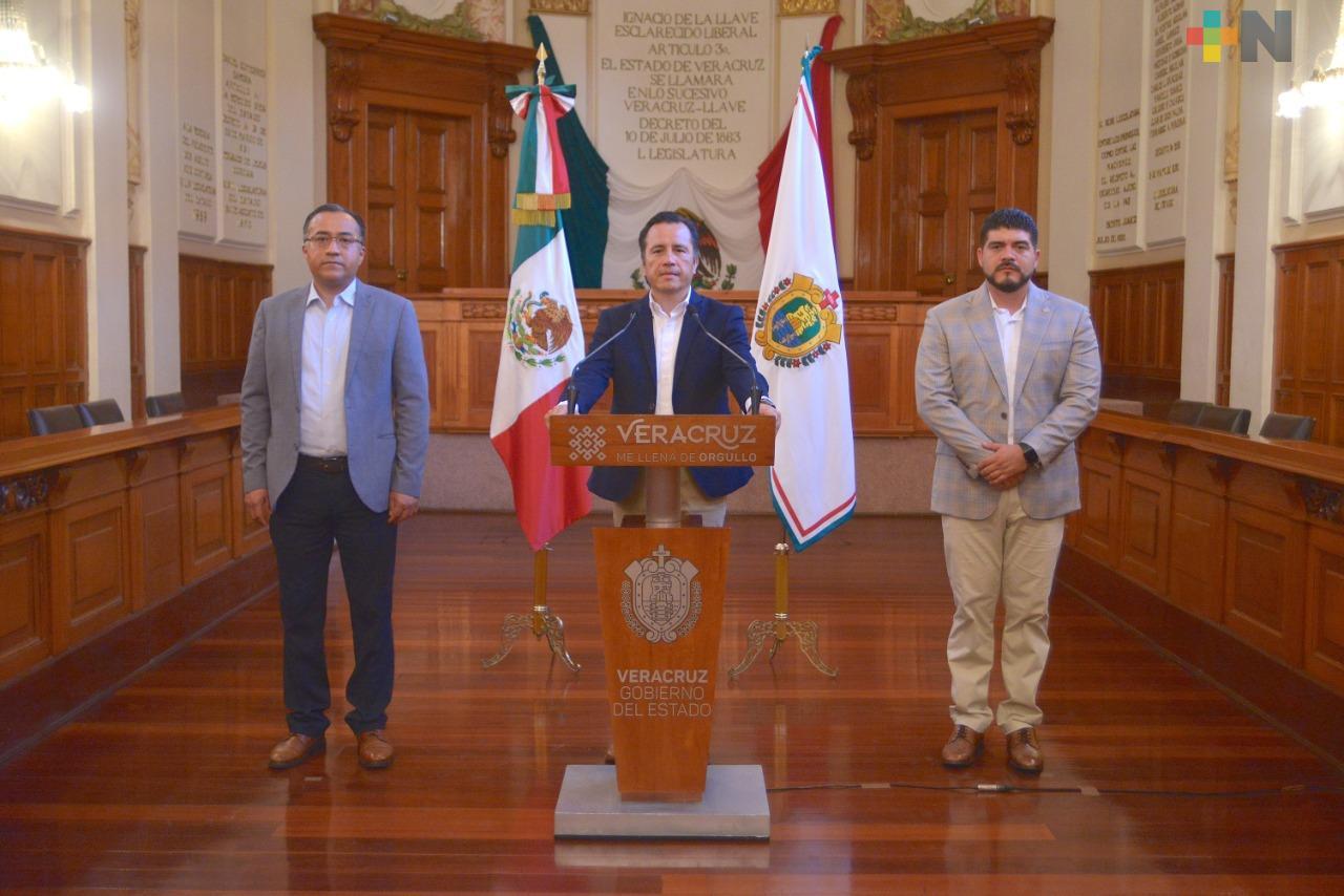 Gobernador Cuitláhuac García presenta aportes de tecnológicos y universidades ante contingencia