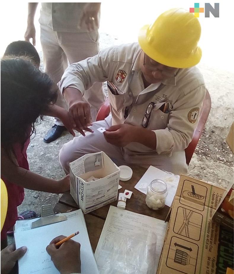 Asiste Secretaría de Salud a pacientes con enfermedad de Chagas