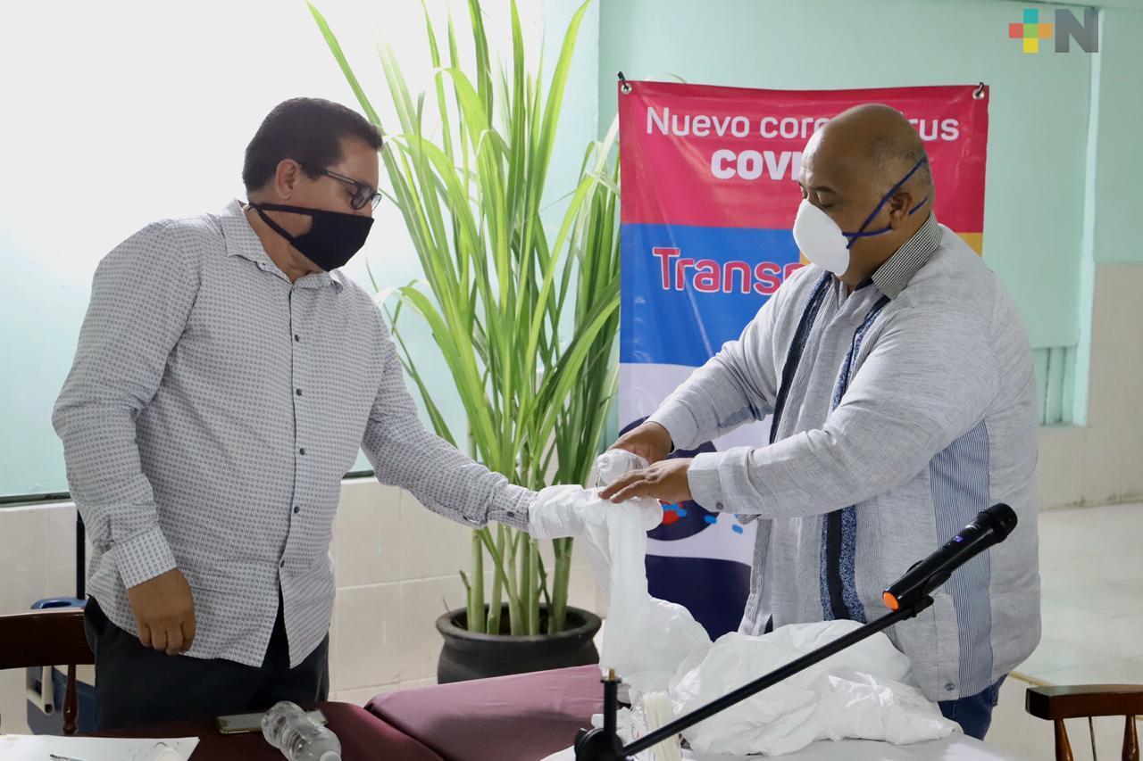 Instruye secretario de Gobierno a reforzar acciones de prevención contra el COVID-19