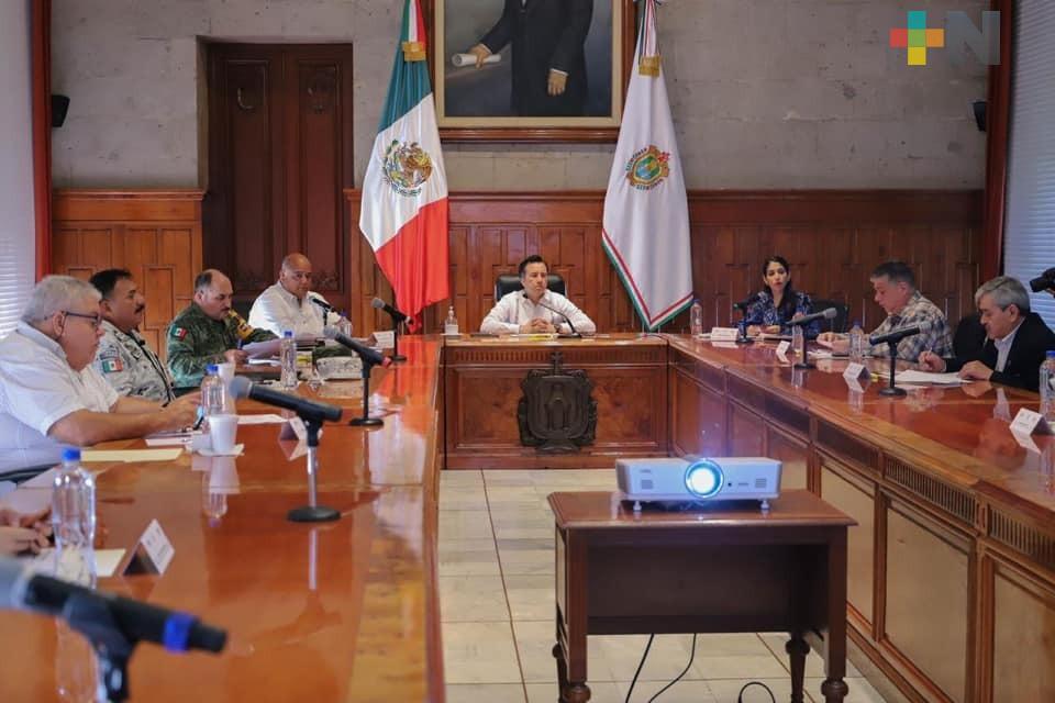 Destaca el gobernador Cuitláhuac García avances en investigaciones por homicidios
