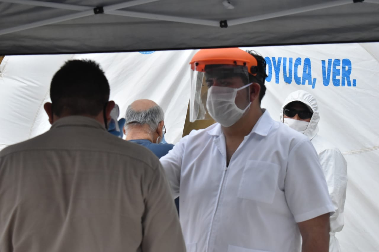 A la alza contagios de coronavirus en municipios de zona norte de Veracruz