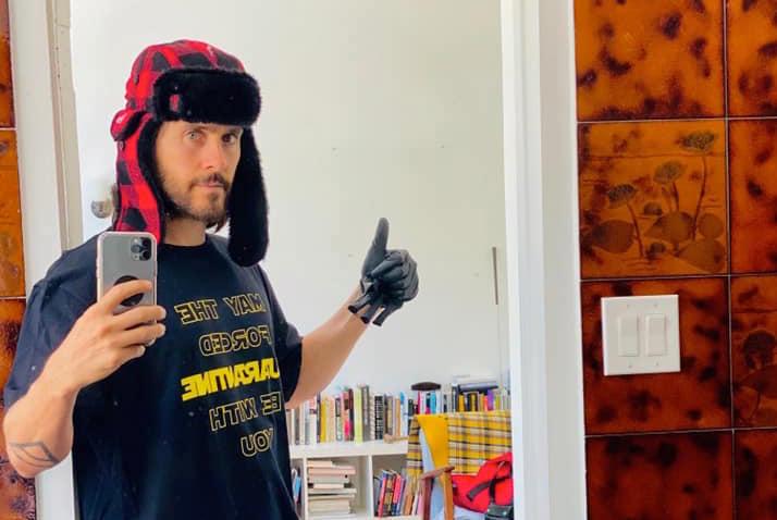 Jared Leto pone a la venta playeras al estilo «Star Wars»