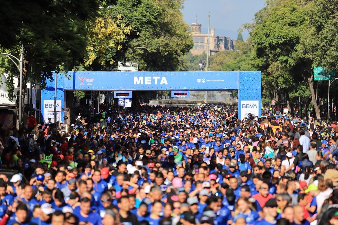 Posponen Medio Maratón de la Ciudad de México 2020, se realizará el 25 de octubre