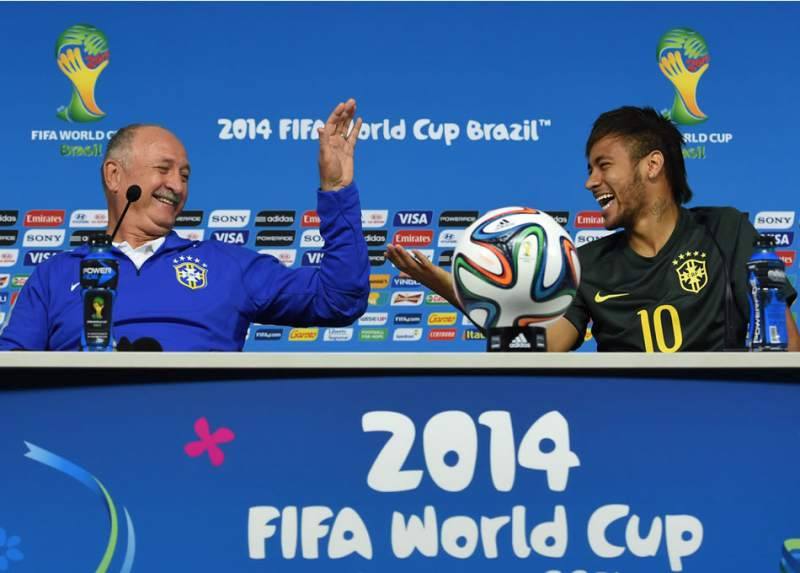 Luiz Felipe Scolari recomienda a Neymar Jr. regresar a Barcelona