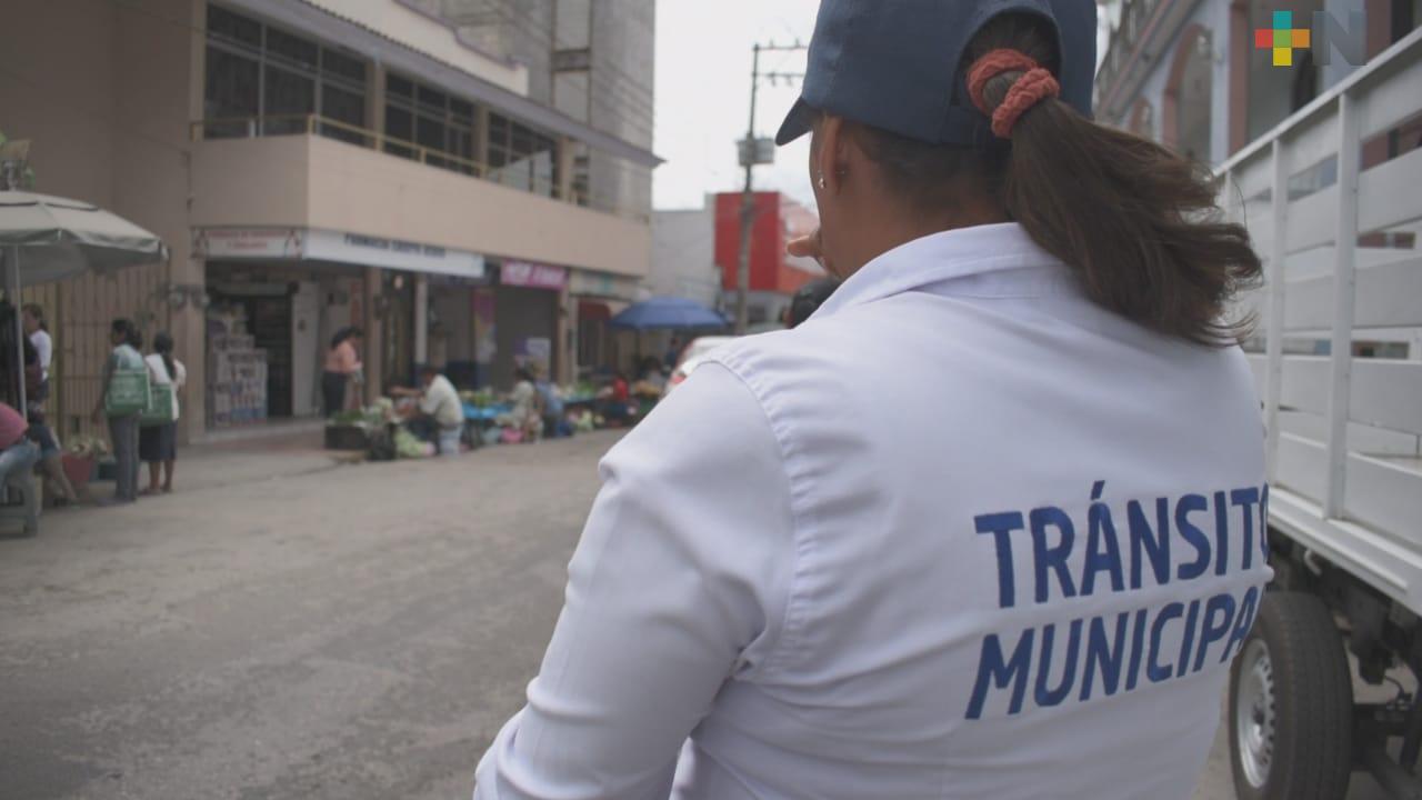 Operativos han dado resultados; más motociclistas usan casco en Tantoyuca