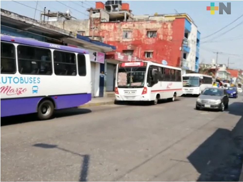 Continuará revisión al transporte público en Córdoba