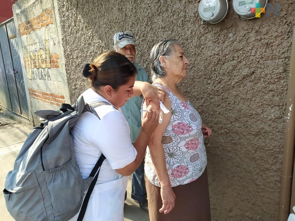 Continúa aplicación de vacunas Sabin y Hepatitis B, en territorio veracruzano