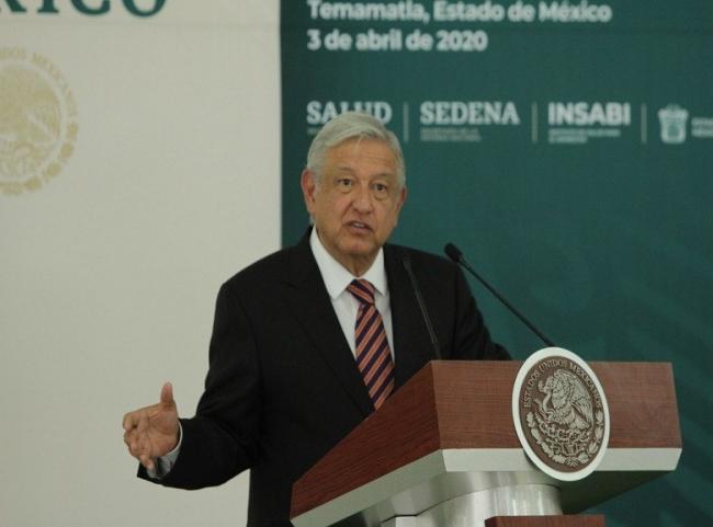 Me da seguridad contar con el Ejército ante pandemia: López Obrador