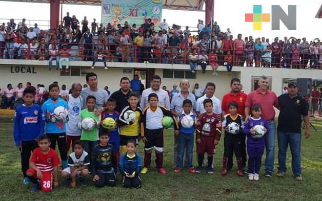 En julio se celebraría la Copa Mina de futbol