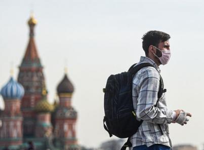 Rusia suma casi nueve mil nuevos casos de COVID-19