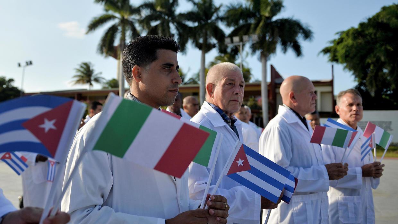 Médicos cubanos logran alta en uno de cada tres pacientes en Italia