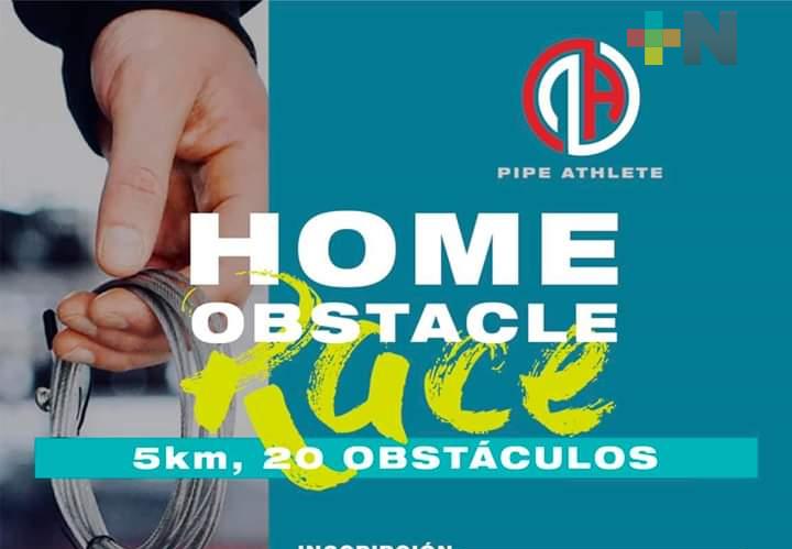 Convocan a carrera con obstáculos, sin salir de casa