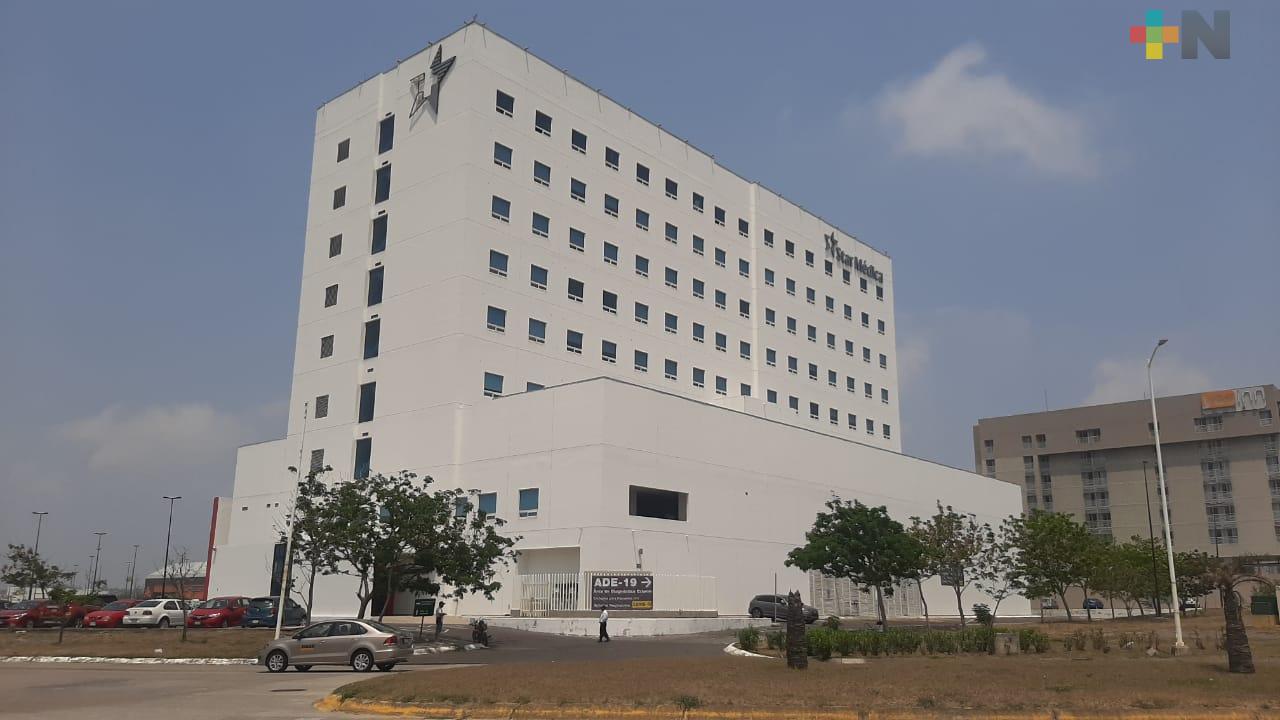 Hospital privado de la ciudad de Veracruz ofrece diagnóstico externo relacionado con el Covid-19