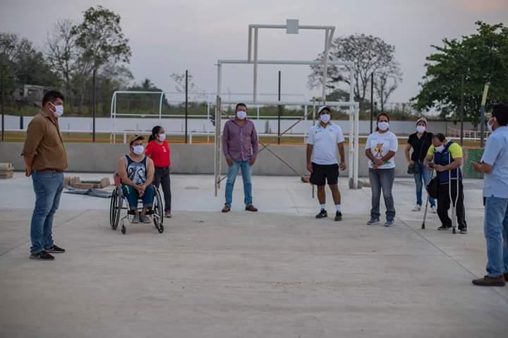 En Acayucan, habilitarán áreas para entrenamientos de deportistas con discapacidad