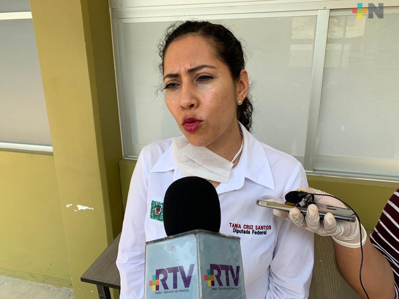 Cada legislador decidirá donar o no parte de su salario: Tania Cruz