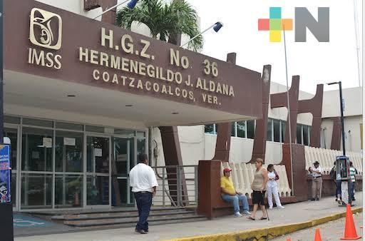 En Coatzacoalcos, aíslan a personal del IMSS con sospecha de Covid-19