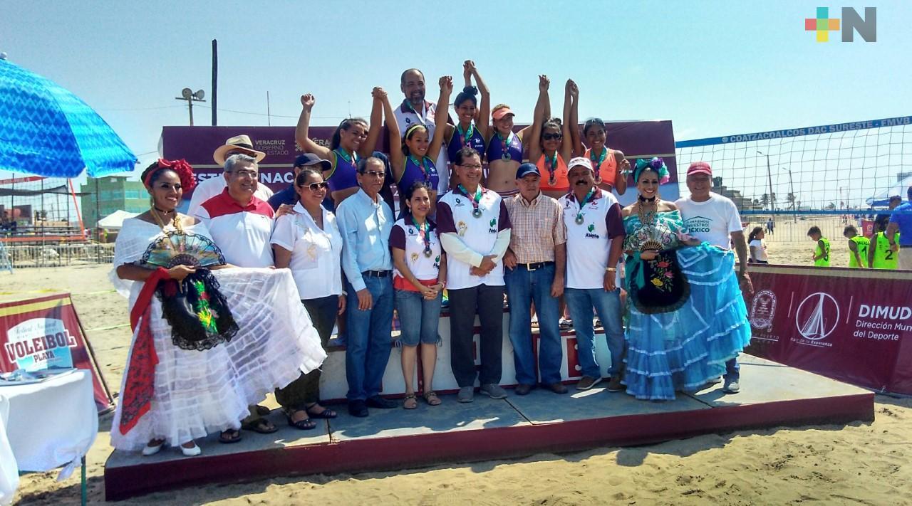 Confirman, para agosto, Festival Nacional de Voleibol de Playa en Coatzacoalcos