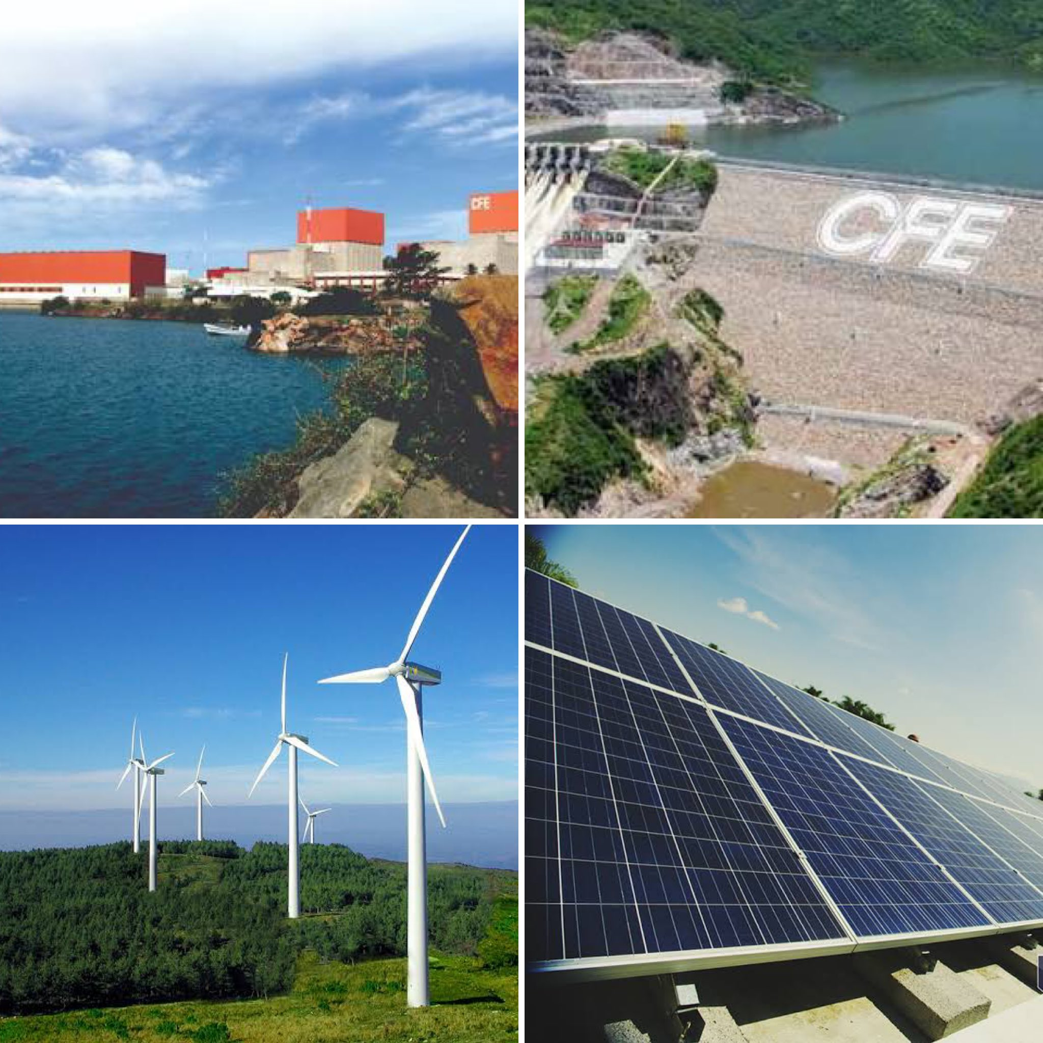 Fuentes de generación de CFE respaldan suministro eléctrico en el norte de México