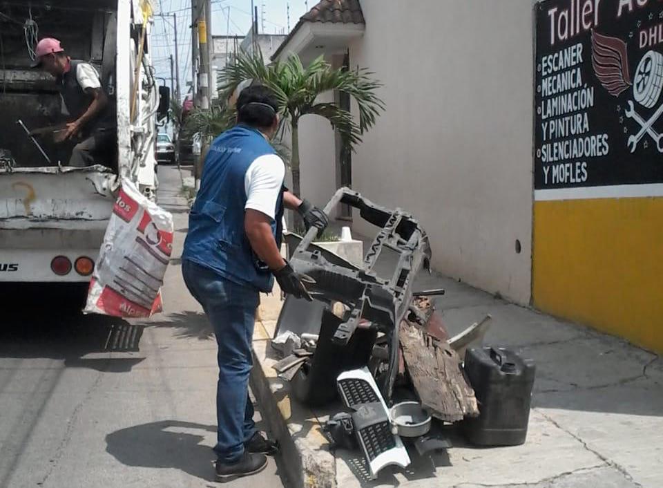 Exhortan a sumarse a las jornadas de descacharrización en Xalapa para evitar el dengue