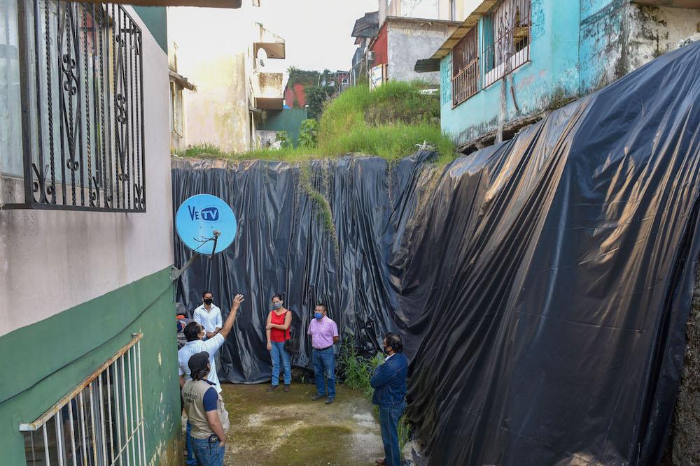 Realizan visita de inspección en Nuevo Xalapa
