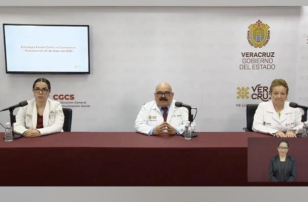 3,717 casos positivos y 538 fallecidos por COVID-19, saldo hasta este domingo en Veracruz