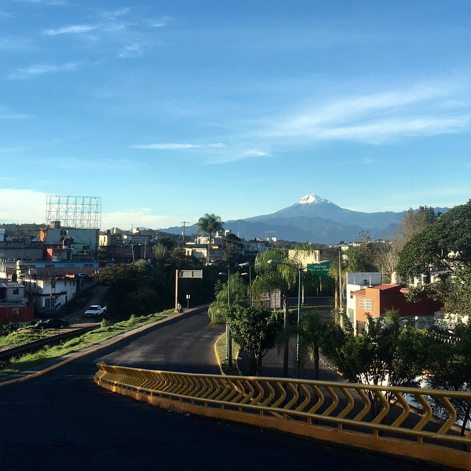 Xalapa y el Pico de Orizaba