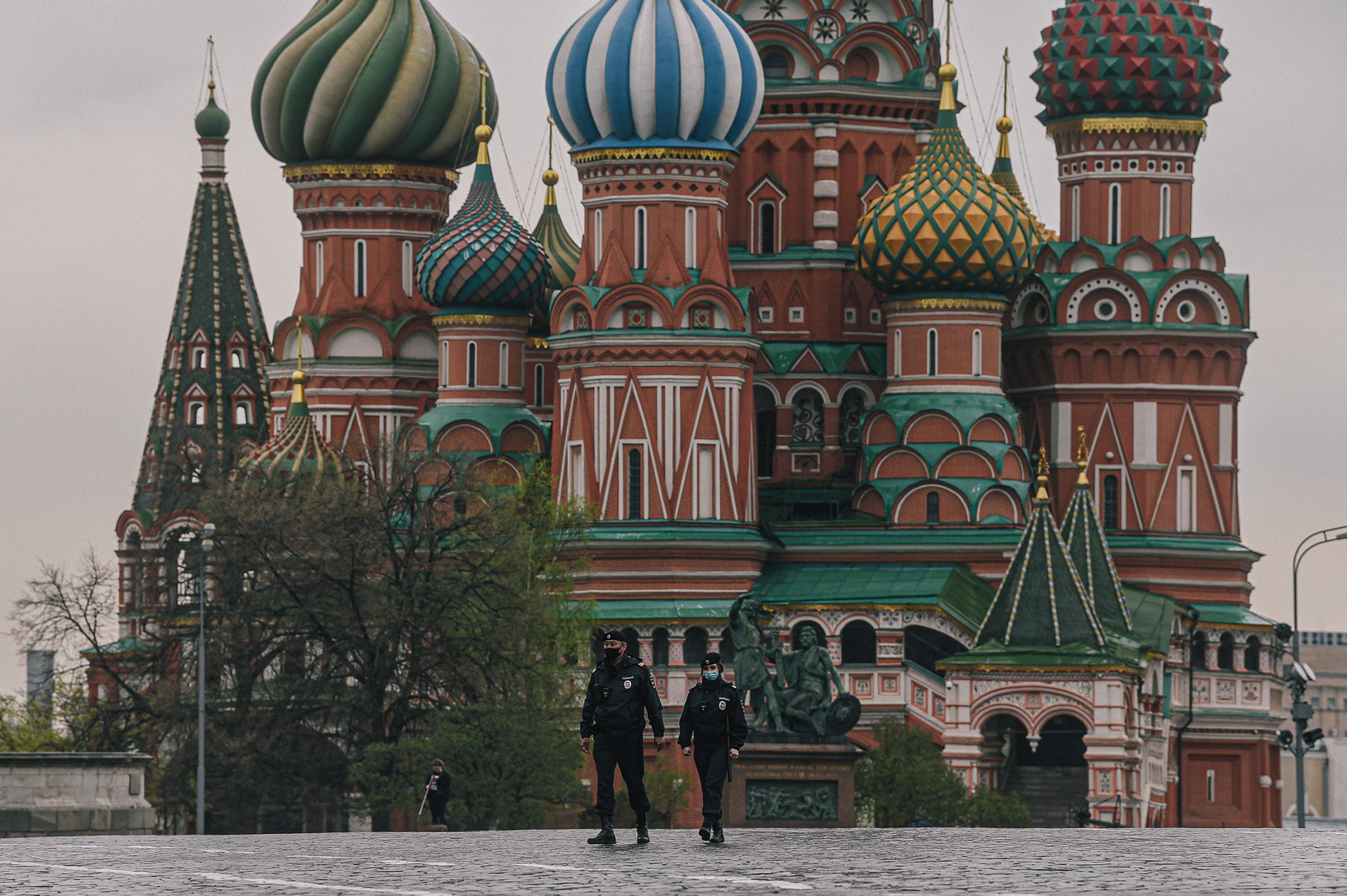Rusia, segundo país con mayor cifra de contagios de COVID-19 en el mundo