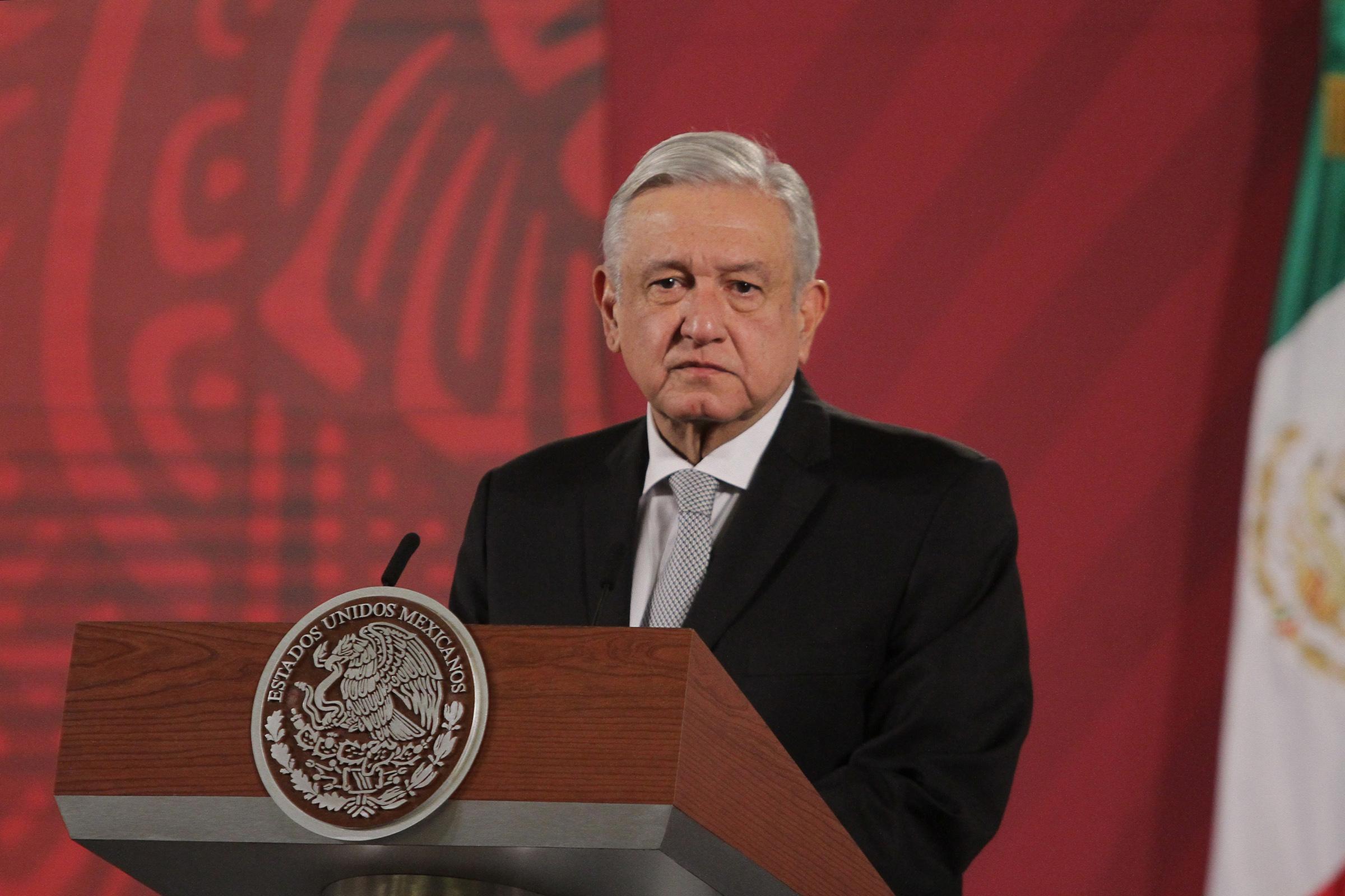 López Obrador contagiado de COVID-19
