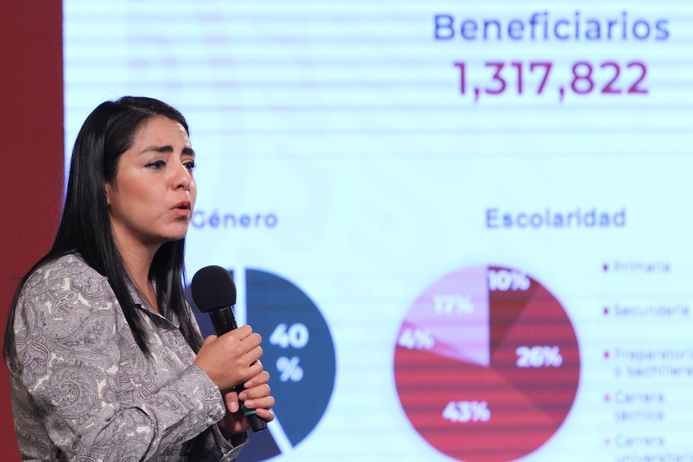 Suma Jóvenes Construyendo el Futuro casi un millón 318 mil beneficiarios
