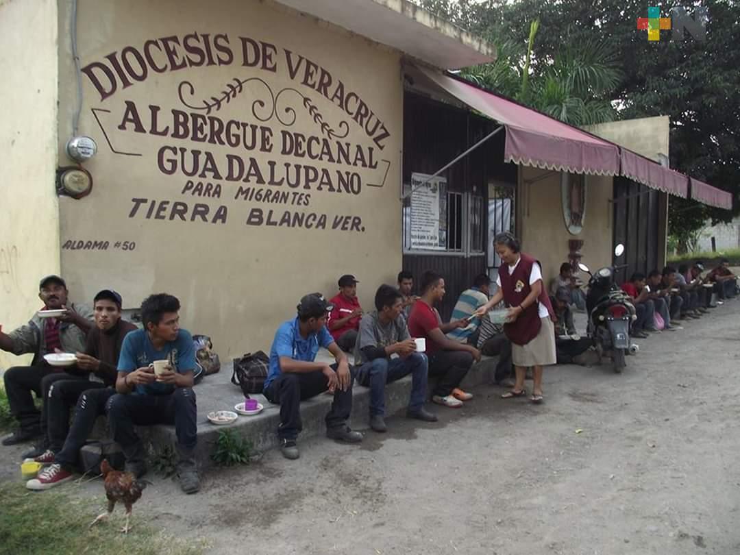 También llegan mexicanos desempleados al albergue de Tierra Blanca