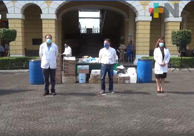 Ayuntamiento de Orizaba dona equipo de protección al IMSS Delegación Sur