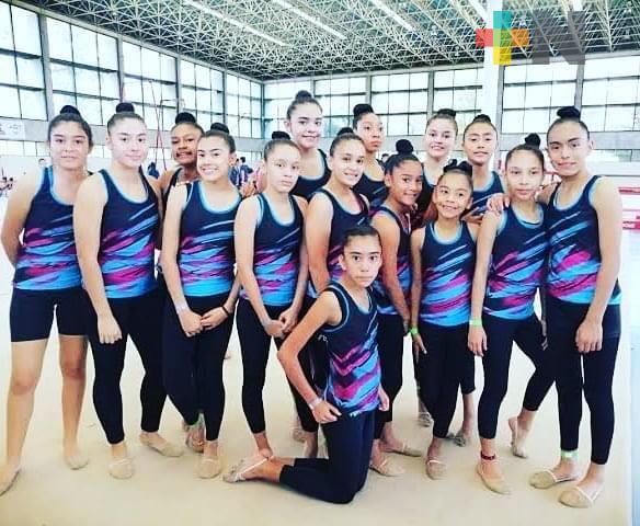 Club de Oro Veracruz  participará en Máster Class de Gimnasia Rítmica
