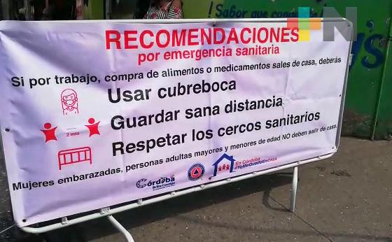 Implementan medidas para reducir movilidad en municipios de la zona centro del Estado